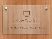 Tileable Wooden Patterns Tutorial