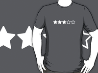 5 star rating shirt