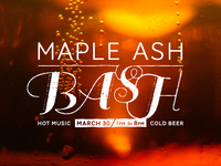 Maple Ash Bash