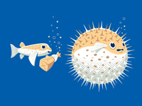 Blowfish Prank Tshirt