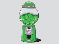 Brussels Sprouts Machine