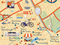 Homes & Antiques - The Hague map