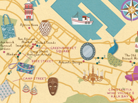 Homes & Antiques - Cape Town map