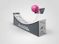 Dribbble Surfing