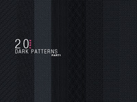 20 Dark patterns - 1