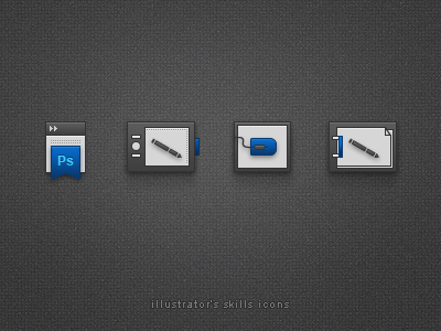 Illustrator Skills Icons / CS5 style by spovv