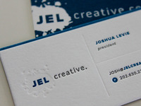 Letterpress Card Design