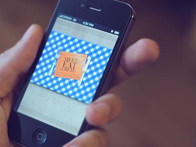 Meet and Eat app