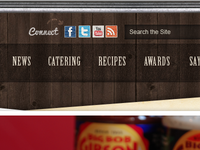 Navigation for BBQ Website