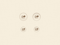 Subdued Share Buttons