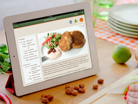 Cooking with Veggie Meals app