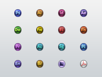 Circular Spectacular CS6 Icon Set
