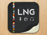 Language Icon prototype version 2