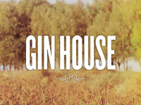 Gin House Packaging