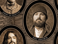 "Zac Brown Band - Uncaged ""Founding Fathers"" Panel"