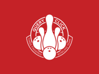 QueryClick Three Fingered Bowling Team Logo