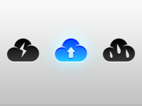 Cloud menubar icon state