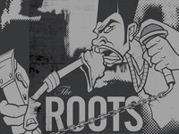 Illustration for Roots poster
