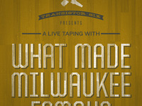 What Made Milwaukee Famous gigposter detail