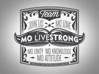 Livestrong Movember graphic