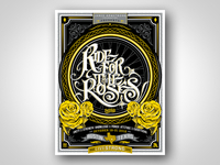 Livestrong Ride for the Roses poster