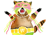 Ultimate Warrior Raccoon