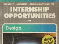 Internships Available!!!