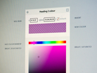 A colour picker for the web