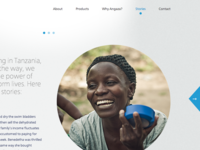 Angaza Design: Stories Page
