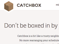 CatchBox | AngelHack 2013