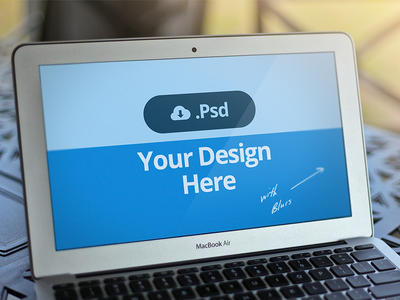 Download Macbook Template PSD