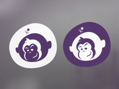 WIP - Space Chimp Media Logo