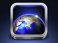 Earthview iPhone app icon
