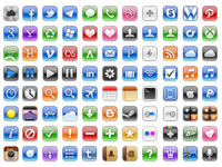 iOS styled icon set 32px - Coming soon