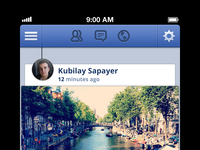 Facebook for iOS redesign