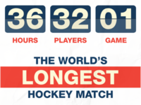 The World's Longest Hockey Match