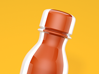 FPO 3D Bottle