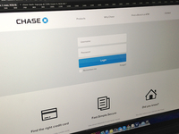 Chase website redesign