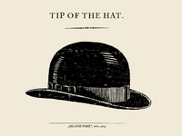 Tip of the Hat