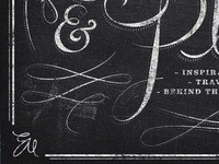 Chalkboard mock up