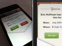 Meal Invite for iPhone app