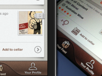 Sipp iPhone App For Wine Lovers - Feed View