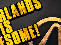 Borderlands Logo Practice