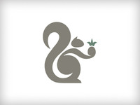Working Squirrel Logo #1