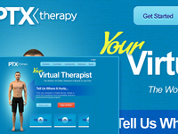 Virtual Therapist Visual Design Start