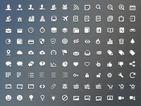 Impressionist Vector Icons Pack (more)