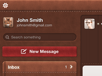 Leather Mail App