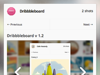 Dribbbleboard updated!