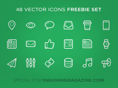Download Linecons – 48 outline icons
