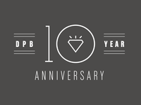 Diamond & Pearl Ball 10 Year Anniversary Logo